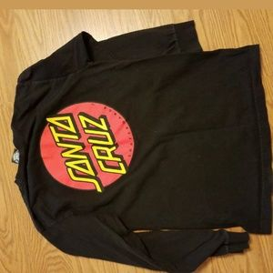 Mens size small Santa Cruz Skateboard shirt